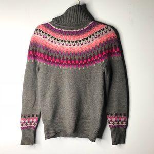C wonder turtle neck north isles sweater